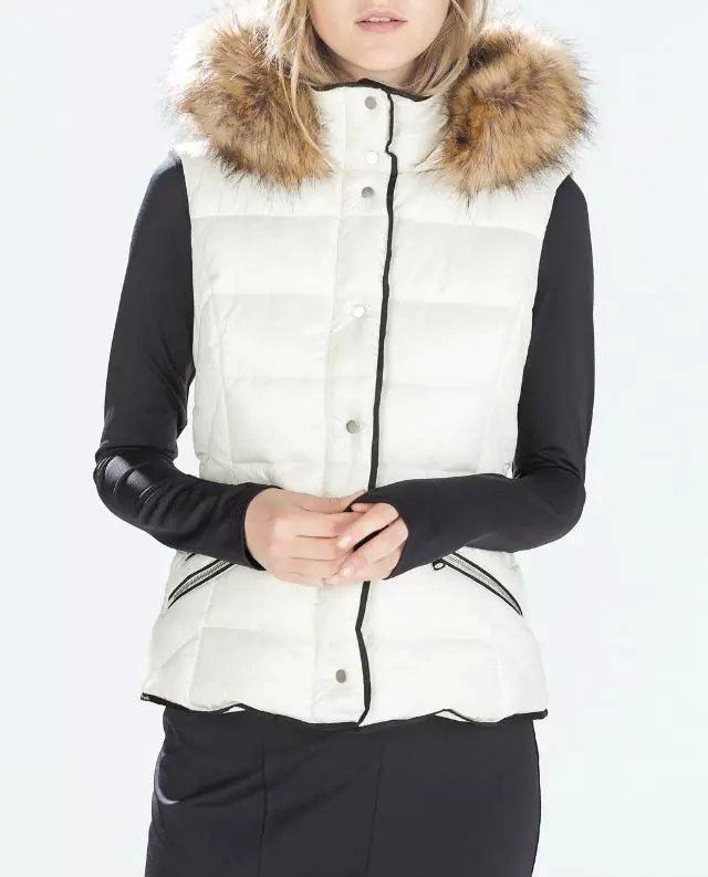 Hot Women Winter Fashion Waistcoat Fur Hooded Thick ...