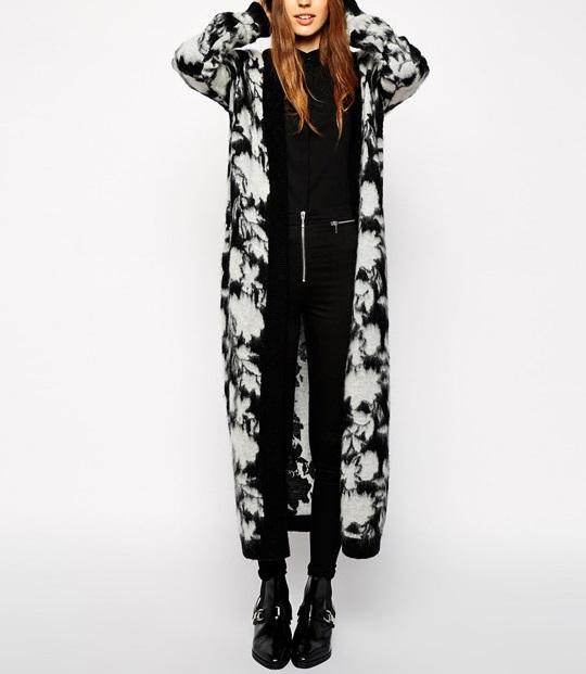 Knitted Cardigan Jacket for female Warm winter Fashion ...