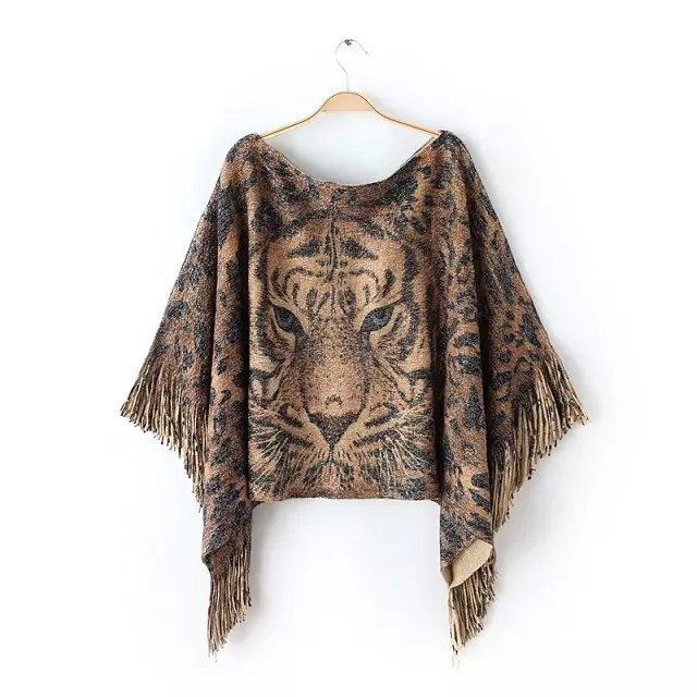 Knitted Sweaters for Women Fashion European style tiger ...