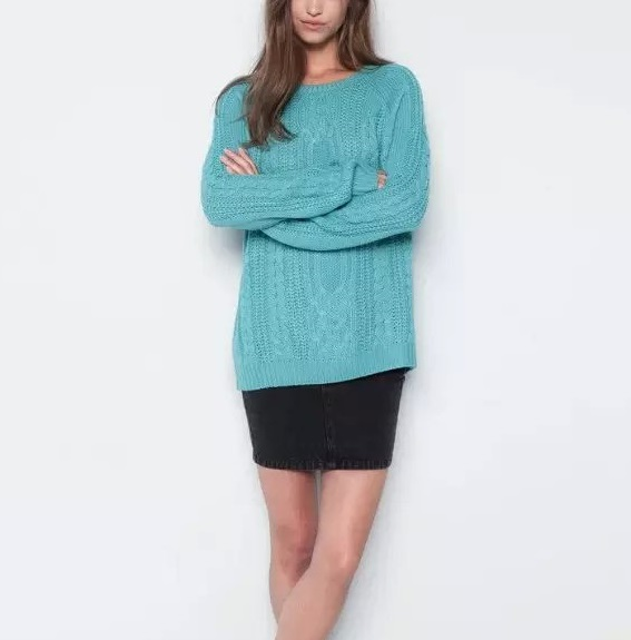 Knitting sweaters for Women School Style Autumn Fashion ...