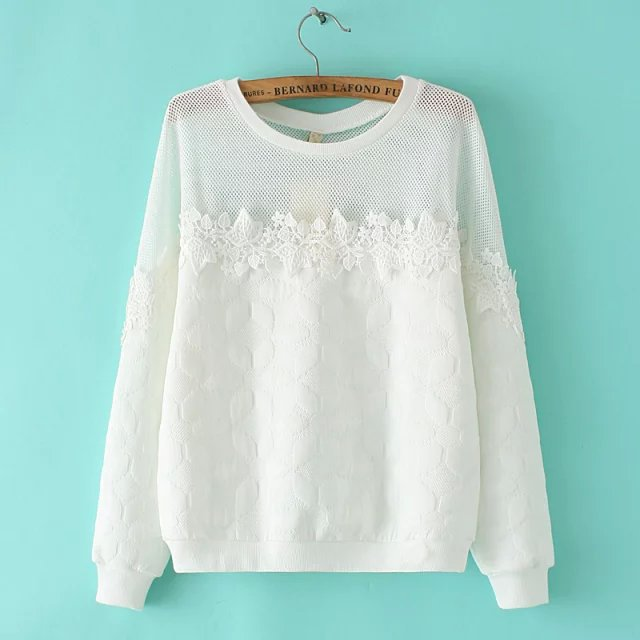 Knitting Sweatshirts for Autumn women fashion Sunflower ...