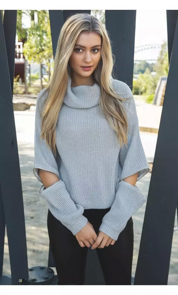 Knitting Turtleneck Sweaters for women American fashion ...