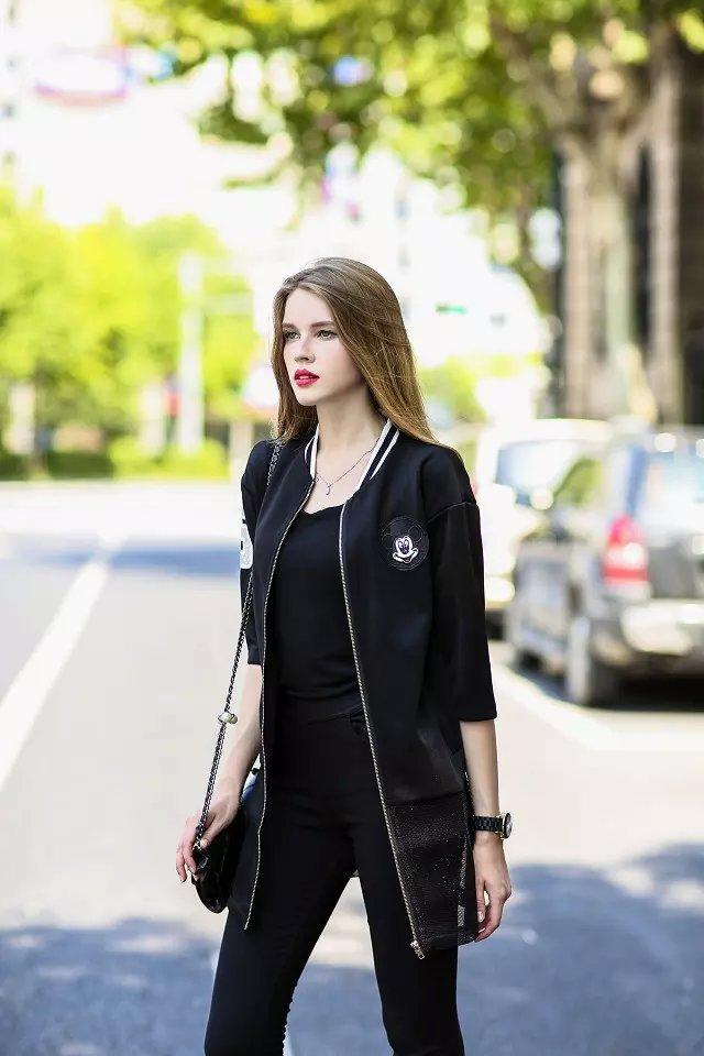 Women Jacket Fashion European style Paillette Patch ...