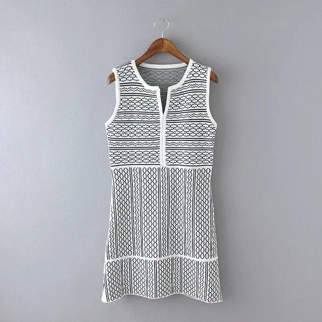 Women Knitting dress Autumn Fashion Korea Jacquard knit ...