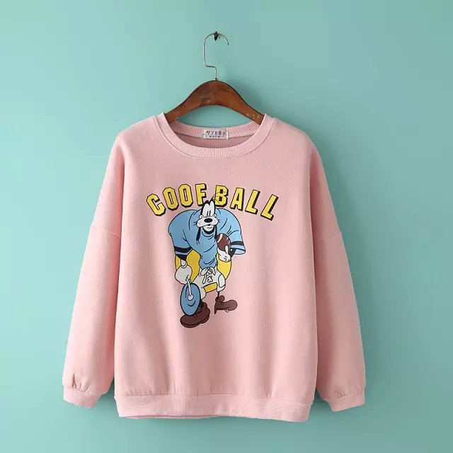 Women sweatshirts Fashion Autumn elegant Cartoon hoodies ...