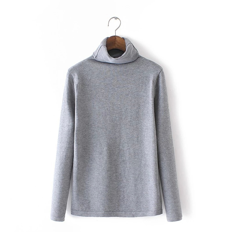 Women winter Knitted Sweaters American fashion Gray ...
