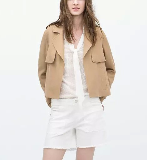 Fashion british Style elegant Long sleeve women Short ...