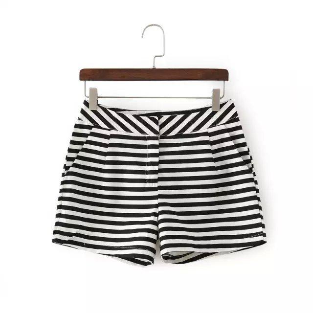 Fashion Ladies Elegant Linen Stripe casual Cozy zipper ...