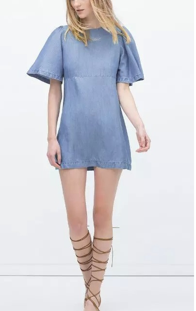 Fashion new arrival Summer Women Sexy short Denim Dresses ...