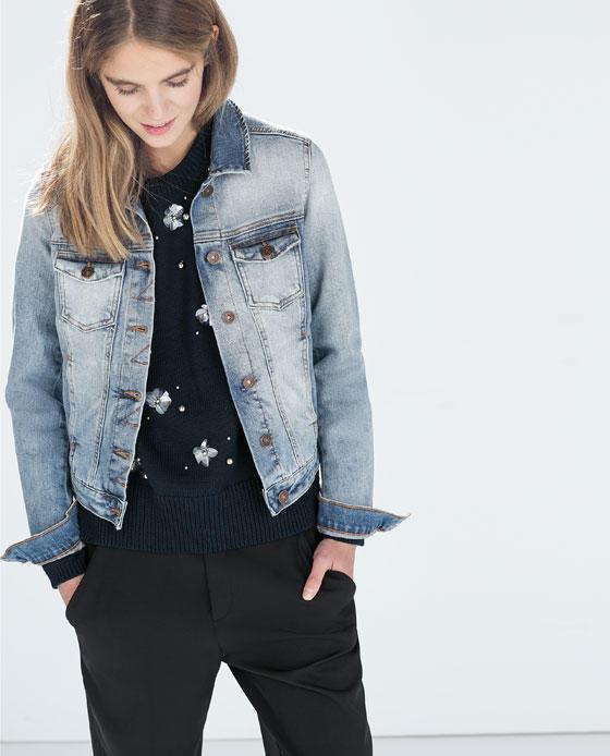 Fashion Women Elegant Blue Denim Jacket Pockets Outwear ...