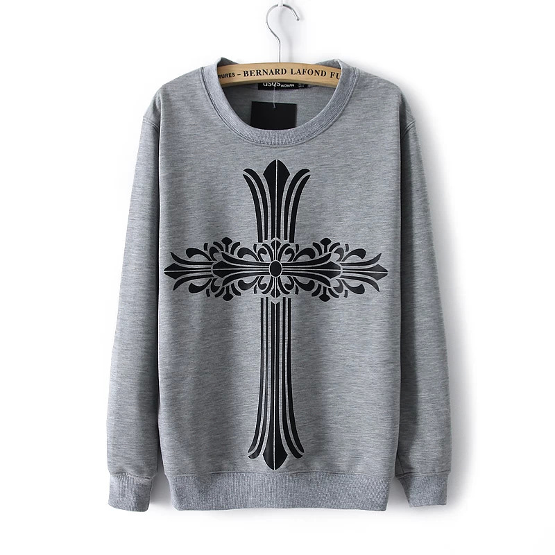 Fashion women elegant geometric pattern sports pullover ...