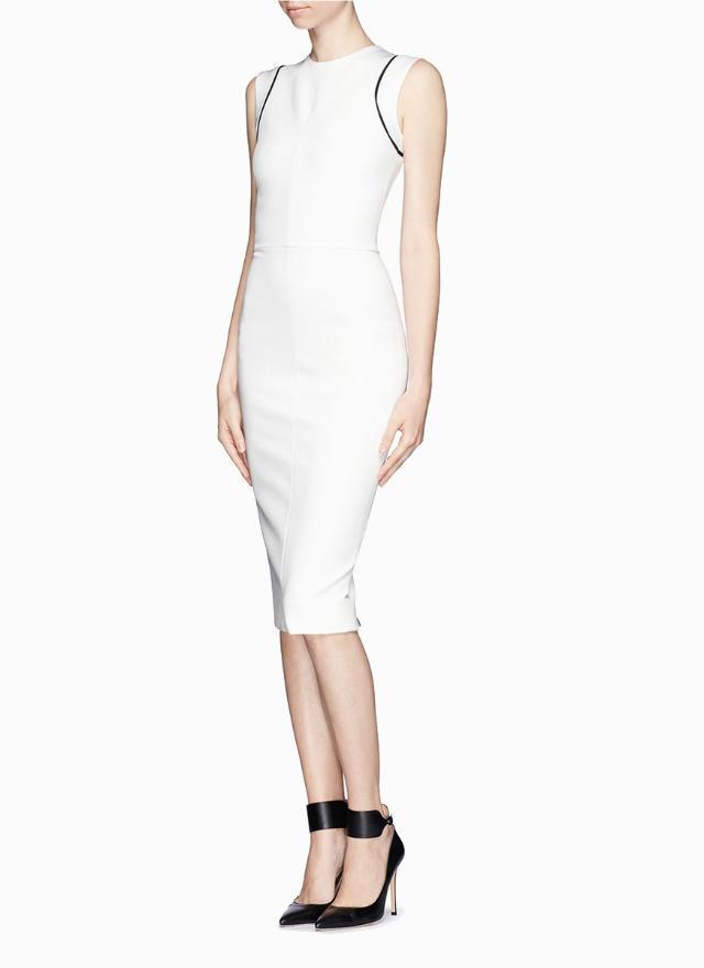 Fashion women Elegant sexy back zipper sheath Dress ...