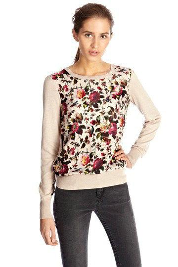 New Fashion Ladies' elegant Floral birds pattern thin ...