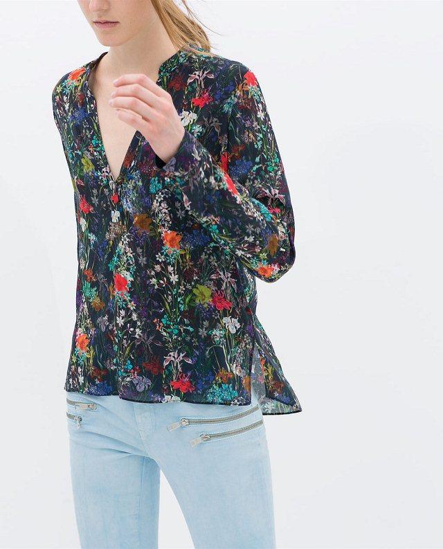 New Fashion Ladies' elegant Vintage floral print soft ...