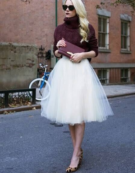 Lastest Style Women Tutu Skirt High Waist Solid Fashion Skater Skirts Womens