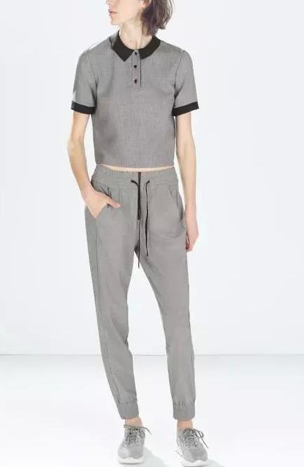 Women fashion elegant plaid blouses vintage turn down ...