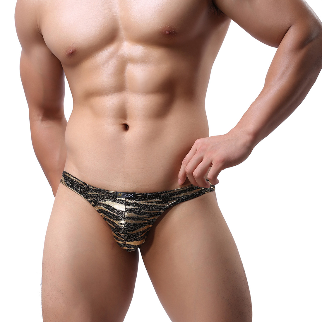 Men's Lingerie Underwear JJSOX Series Low Waist T-back ...