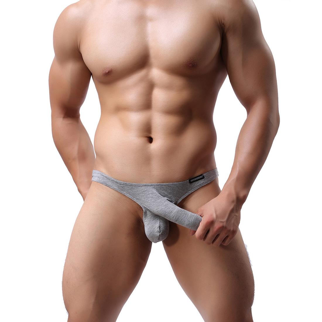 Men's Sexy Lingerie Underwear Modal Triangle Pants Shorts ...