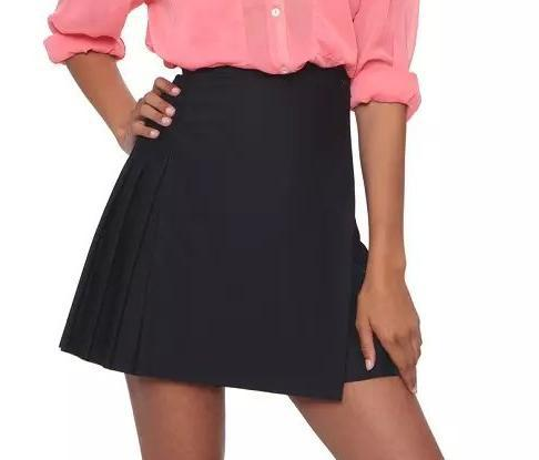 GT02 Summer Fashion Women Pleated High Waist Side Open button Mini Skirts Casual Quality Skirt