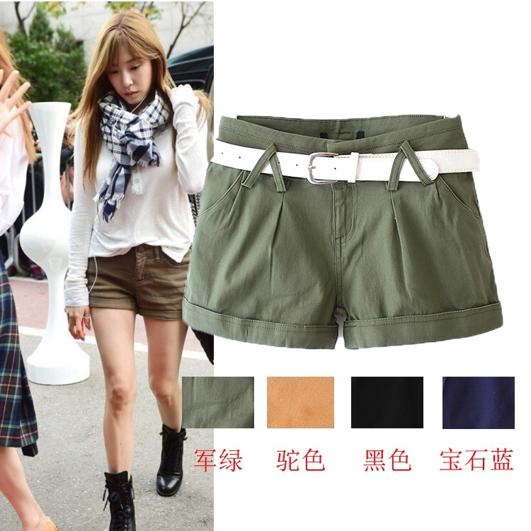 RG14 Summer Fashion Ladies' elegant pocket basic belt ...