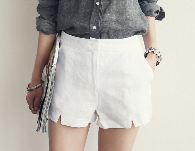 QIQ11 Summer Fashion Women elegant OL Candy Color shorts ...