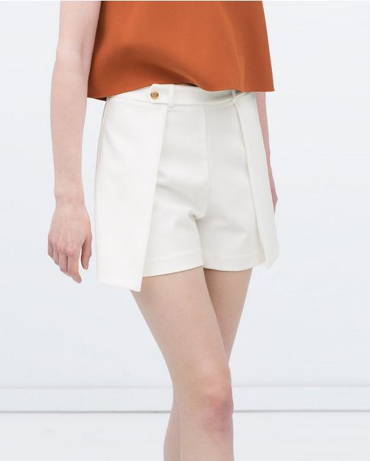 XZH09 Fashion Summer Women elegant Pleated Zipper White ...