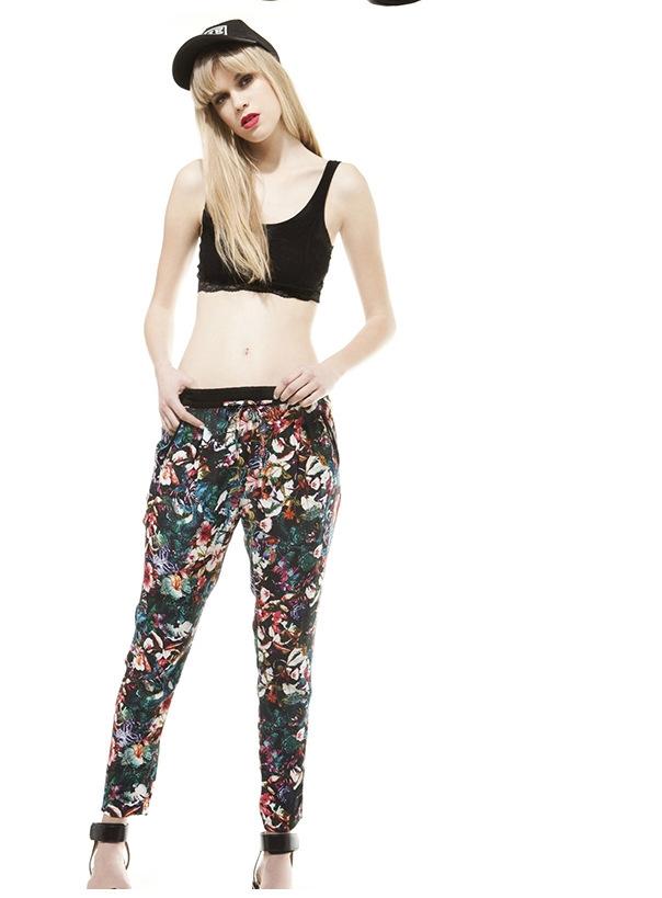 03TH06 Fashion women Elegant vintage floral print pockets ...