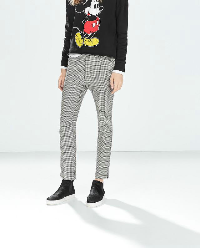 03JQ03 Fashion women's Elegant Plover case suit pants leisure pants pockets slim trousers brand designer pants