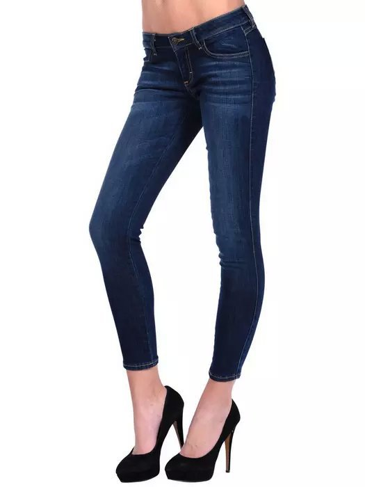03TO8573 Fashion women embroidery pocket Jeans skinny pants sexy casual slim brand designer pants