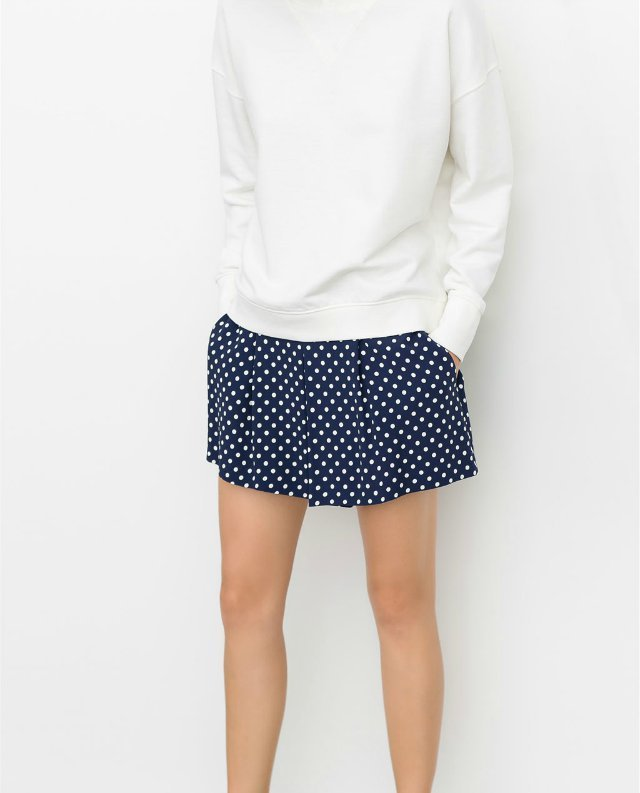 03L97 New Fashion Ladies' Elegant dots print shorts ...