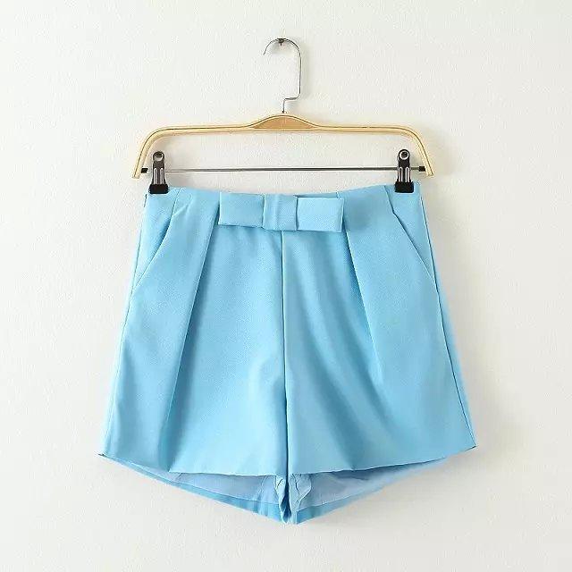 HL02 Fashion Summer Women Sweet elegant zipper Bow Tie ...