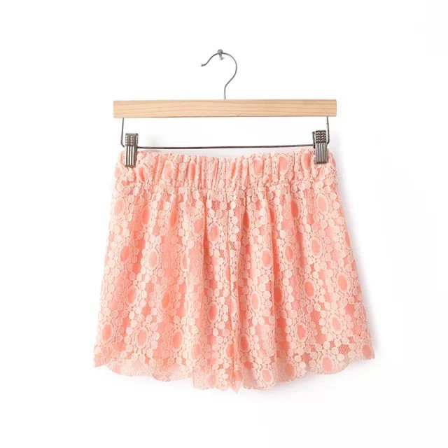 XYY10Fashion womens elegant sweet floral lace shorts ...