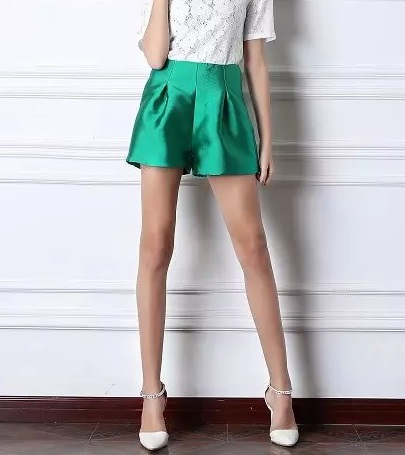 SB02 Fashion Summer Ladies' elegant pocket satin High ...