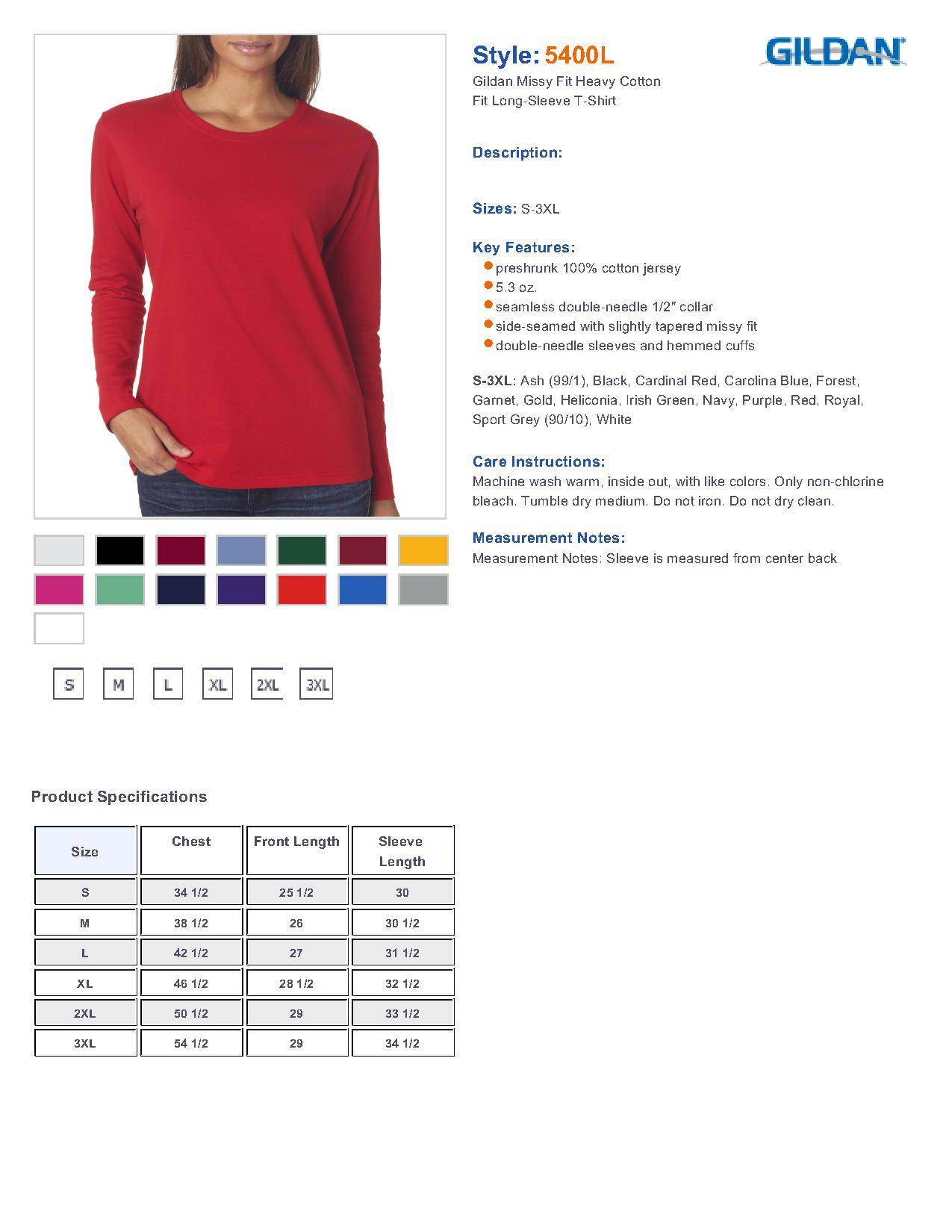 Gildan color chart aol image search results nvjuhfo Images