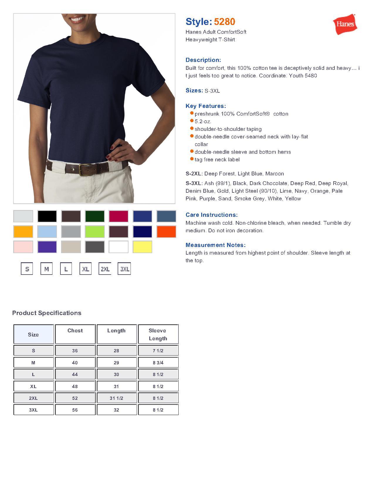 Hanes Men S T Shirts