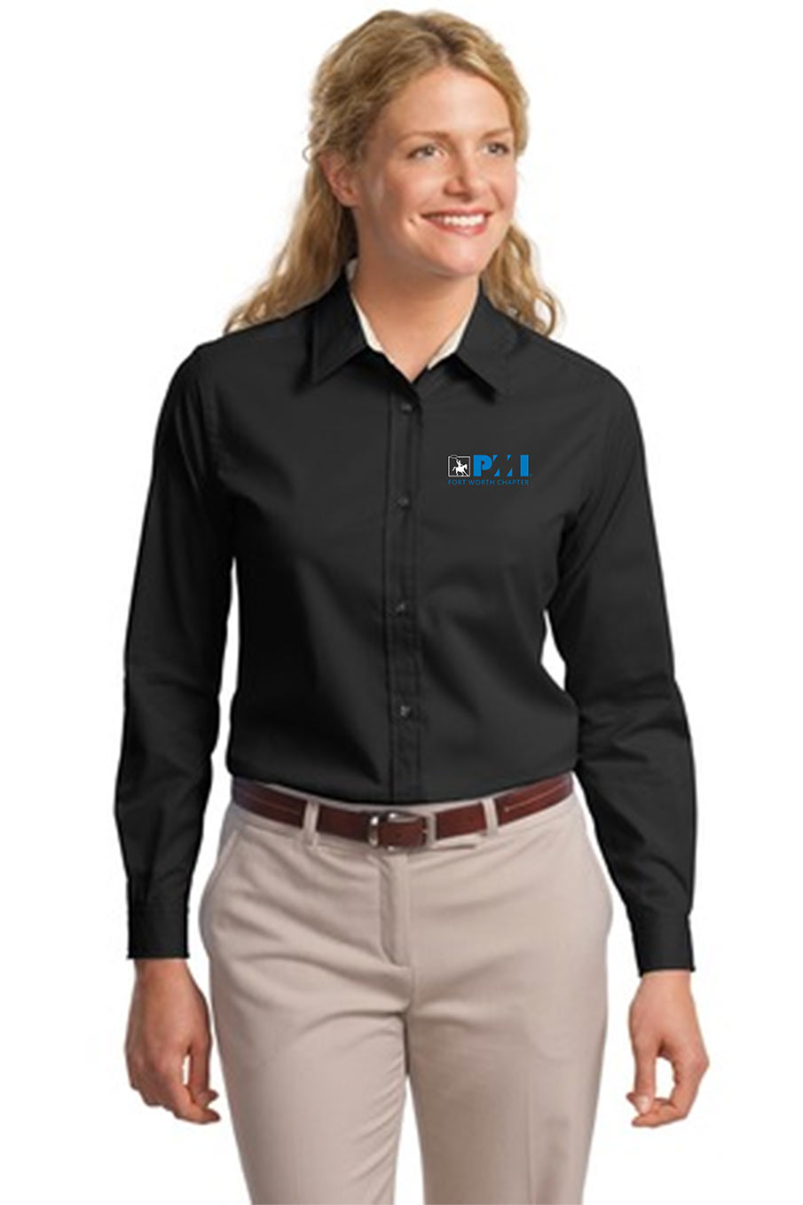 Port Authority® L608 Ladies Long Sleeve Easy Care Shirt