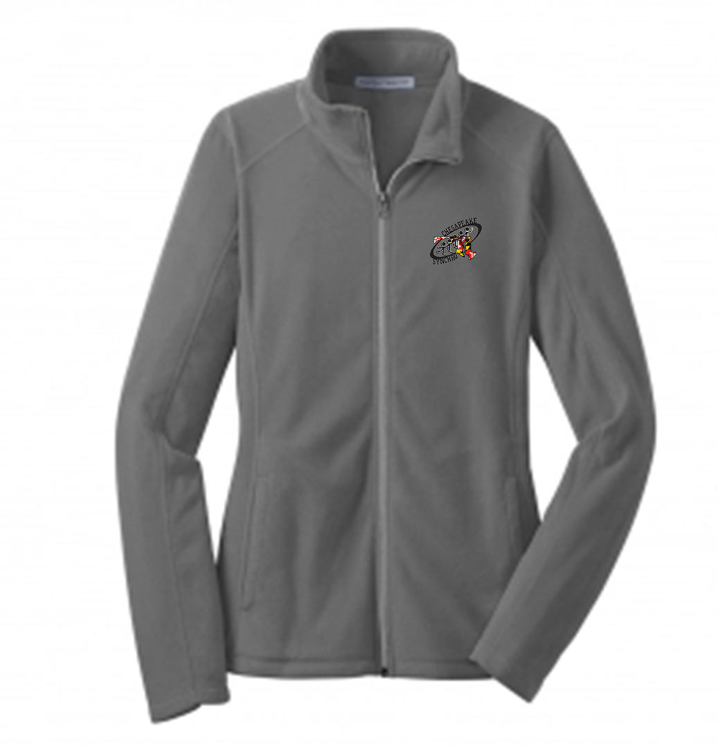 custom design of Port Authority® L223 Ladies Microfleece Jacket