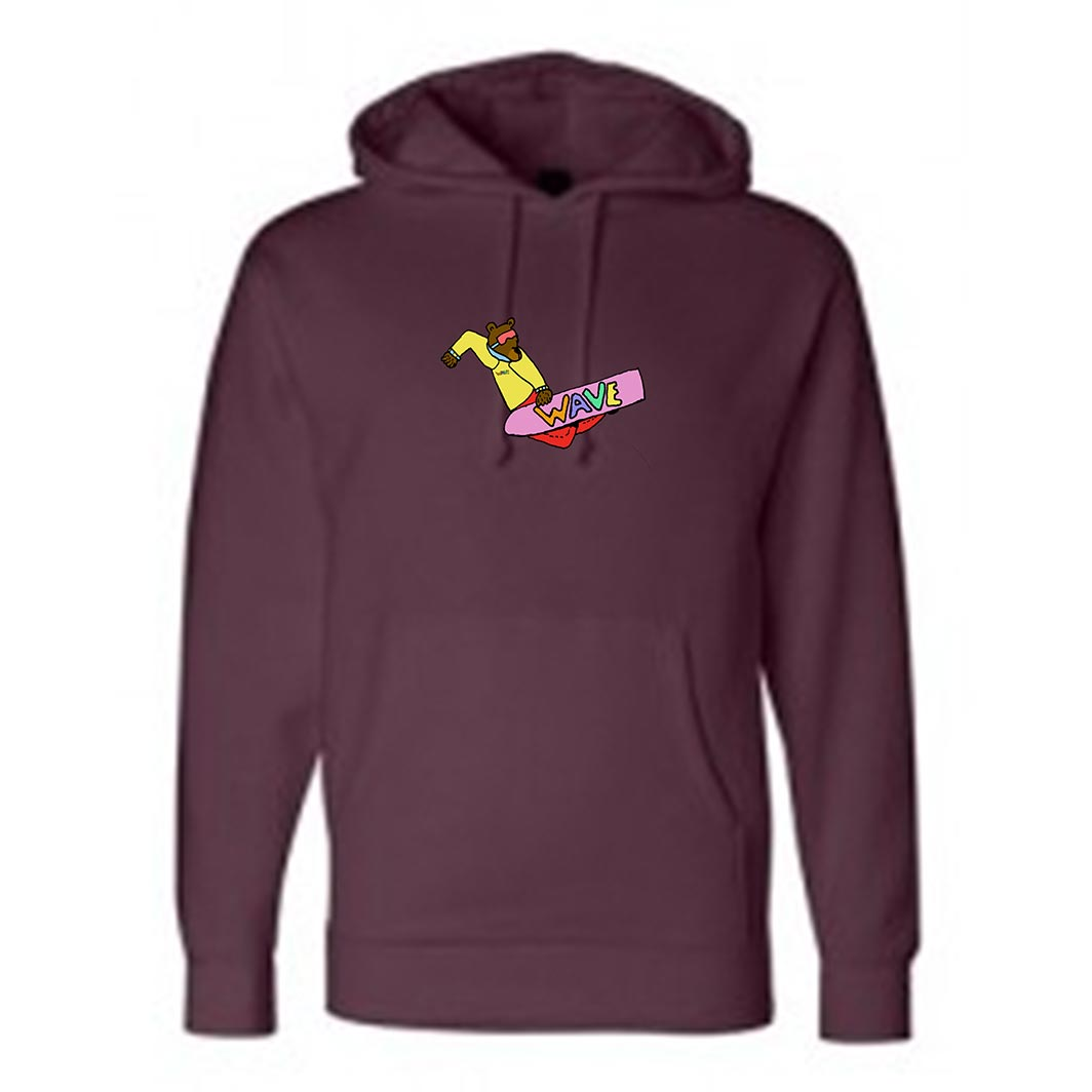 custom design of Independent Trading Co IND4000 - Hooded Pullover Sweatshirt