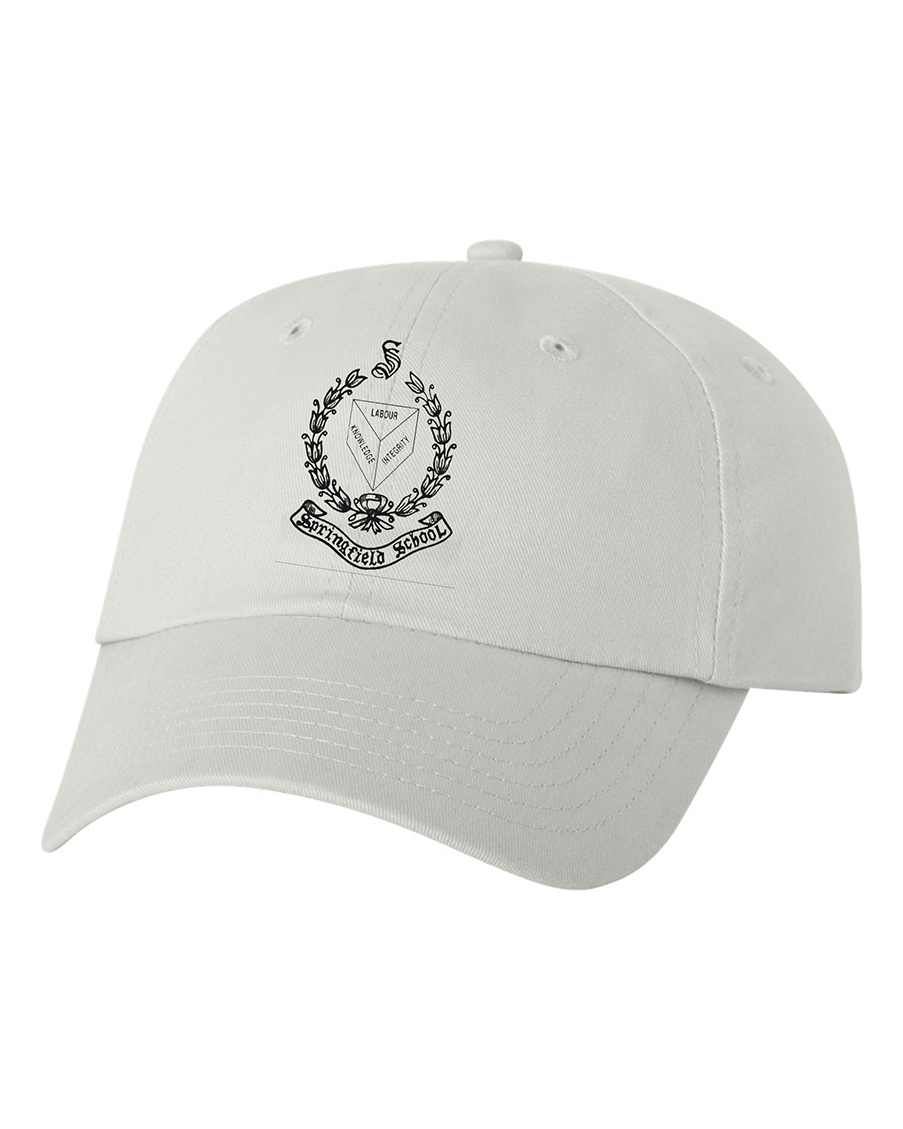 custom design of Valucap VC200 Brushed Twill Cap