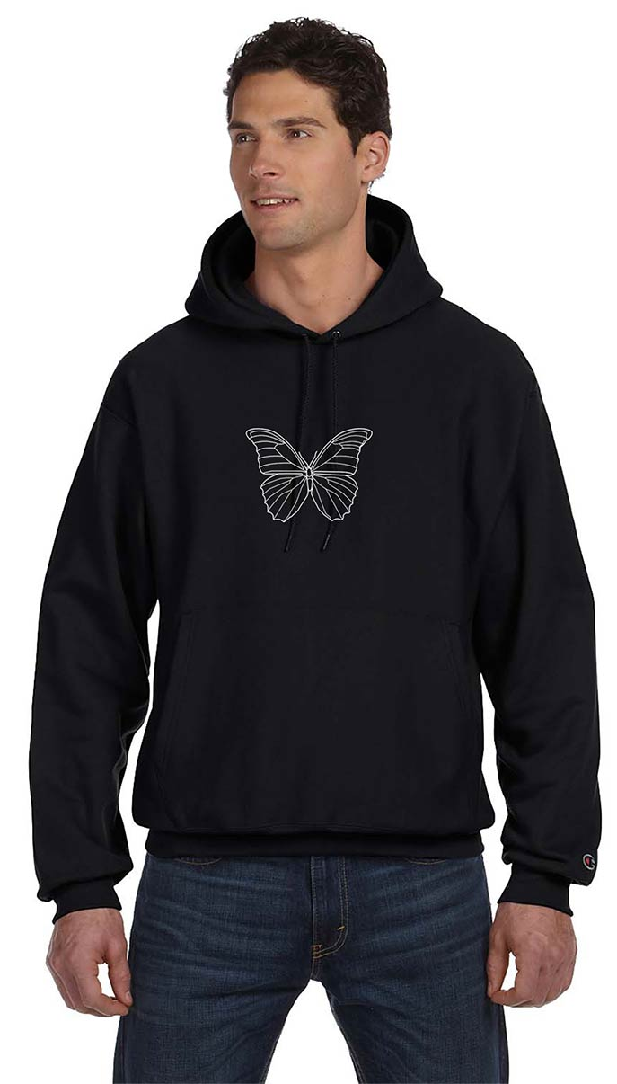 custom design of Champion S101 Reverse Weave Hooded Sweatshirt