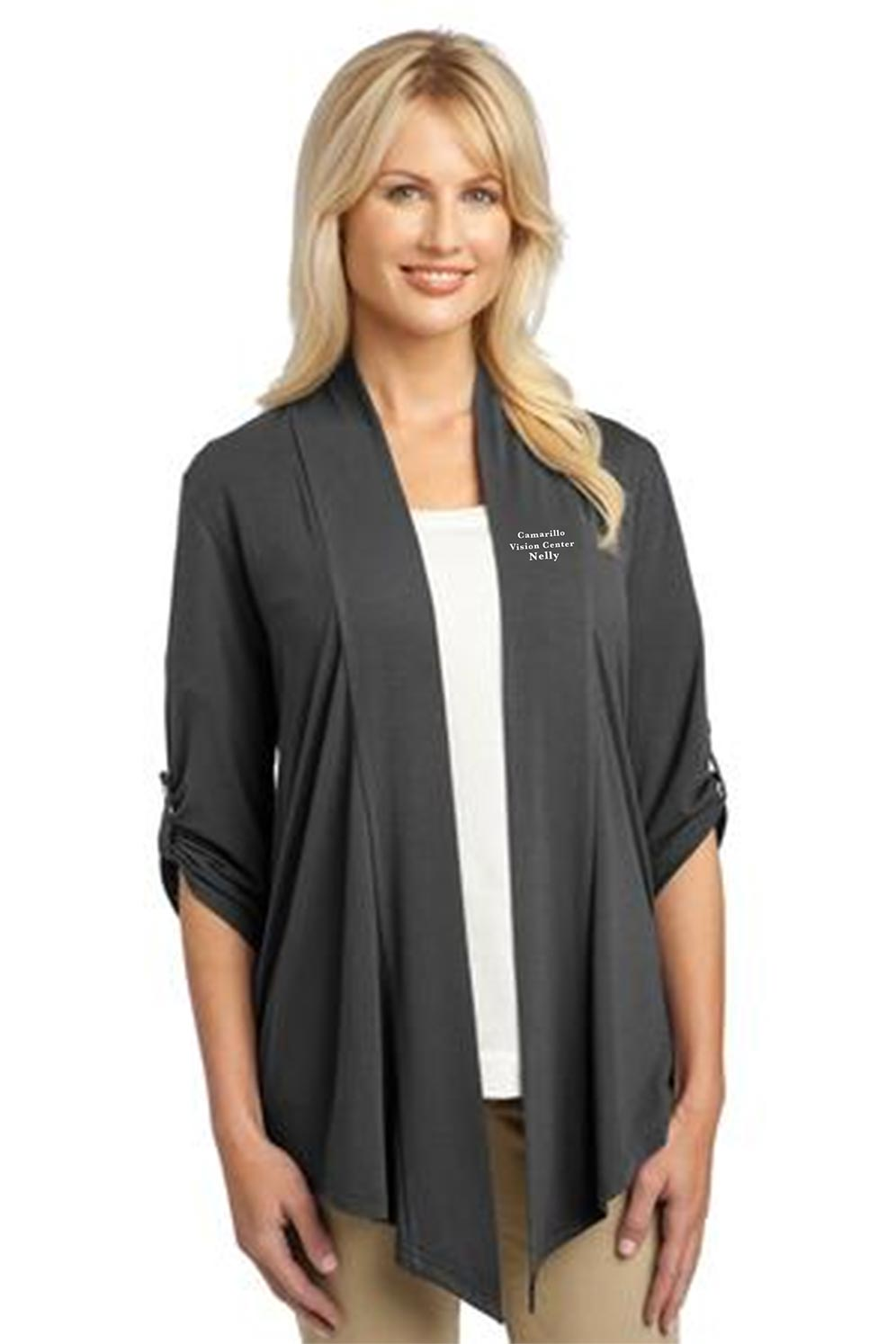 custom design of Port Authority® L543 Ladies Concept Shrug