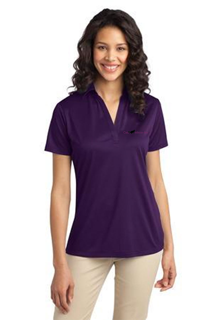 custom design of Port Authority® L540 - Ladies Silk Touch Performance Polo