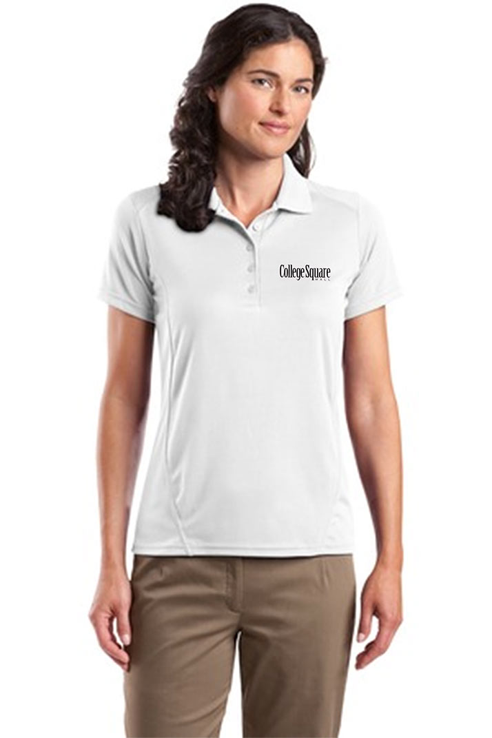 custom design of Sport-Tek® L475 Ladies Dry Zone™ Raglan Accent Polo