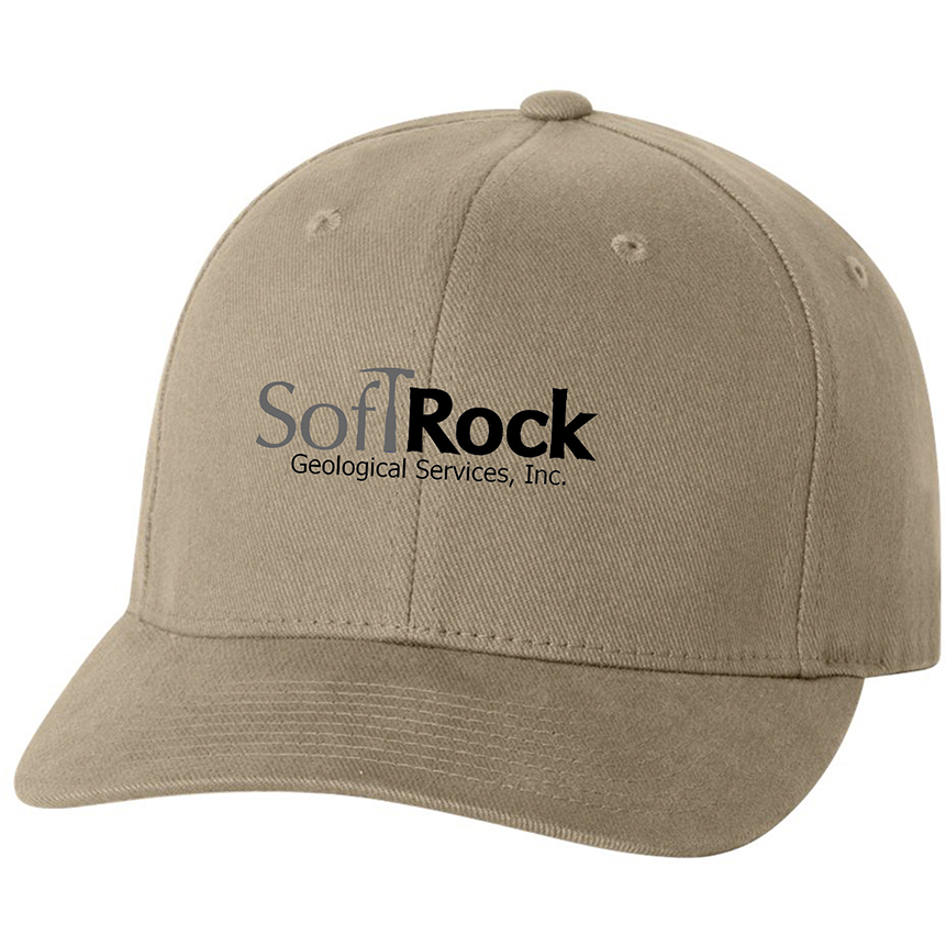 custom design of Flexfit 6377 - Adult Brushed Twill Cap