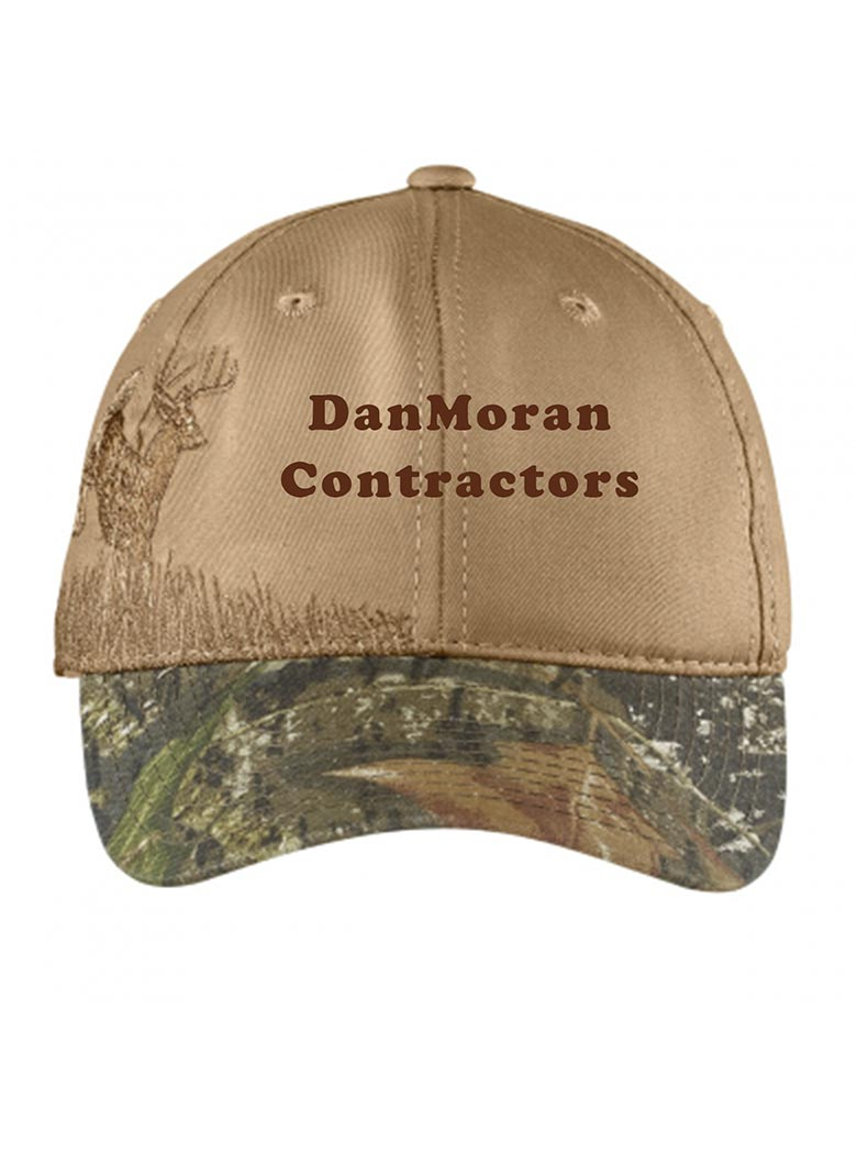 custom design of Port Authority® C820 Embroidered Camouflage Cap