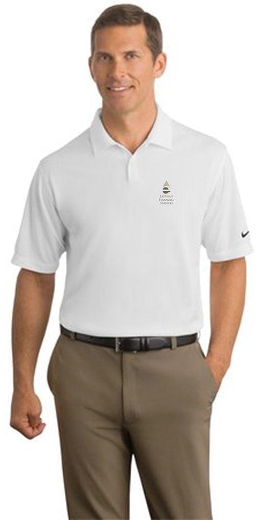 custom design of Nike Golf 373749 Dri-FIT Pebble Texture Polo