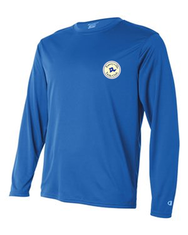 custom design of Champion CW26 - Double Dry Performance Long Sleeve T-Shirt