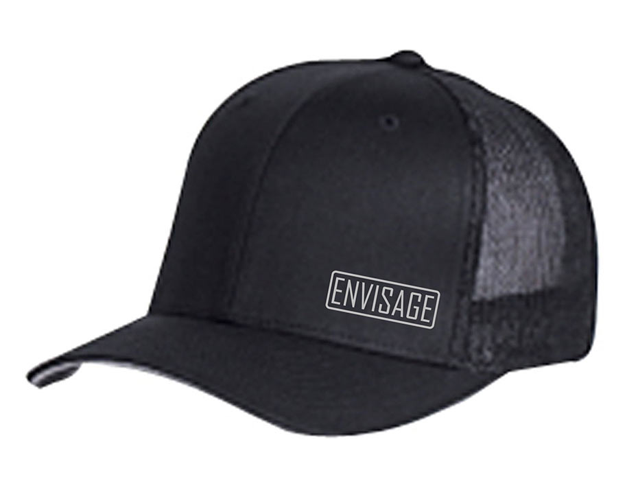 custom design of Yupoong 6511  Flexfit Trucker Cap