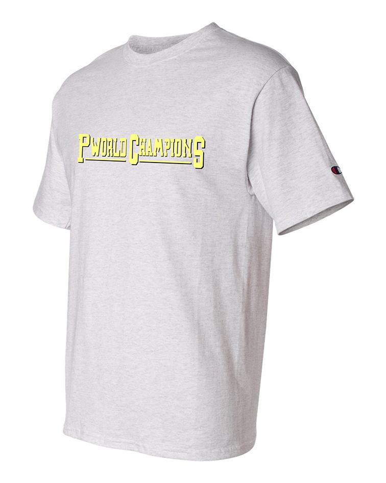 custom design of Champion T425 Short Sleeve Tagless T-Shirt