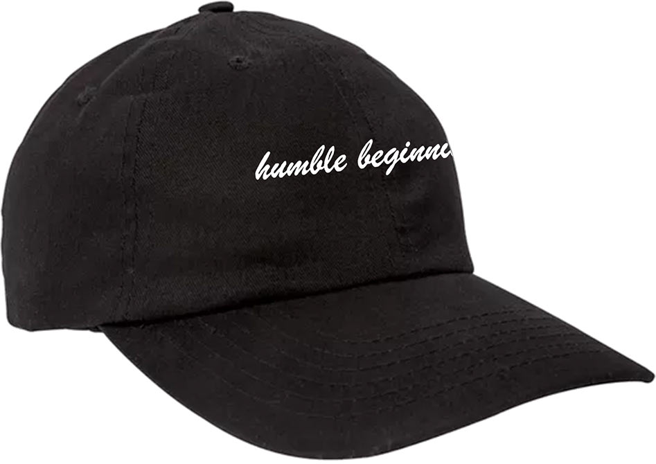 custom design of Big Accessories BX001 6-Panel Brushed Twill Unstructured Cap